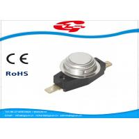 China High Voltage Snap Disc Thermostat Electronic Components Auto / Manual-Reset on sale