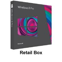 Microsoft Windows 8 Professional Full Version Retail Box Manufactures