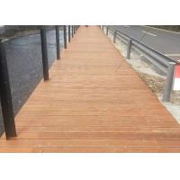 Customized Waterproof Bamboo Deck Tiles 18mm Thickness 100% Natural Bamboo Manufactures