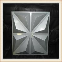 new building material 3D carved PVC fire resistant decorative wall panel Manufactures
