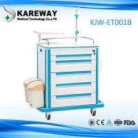Buy cheap Portable Durable Medical Trolley Cart Easy Cleaning For Emergency Drug Transportation from wholesalers