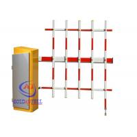 Vehicle Access Control Parking Barrier Gate , Road Safety Car Barrier With RFID System Manufactures