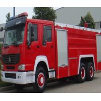 Manual Transmission Type Fire Extinguisher Truck / Fire Fighting Vehicles 20.000 Liters for sale