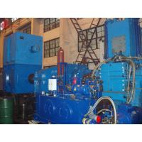 Four-Wing 7500kg / h Alloy steel casting Banbury Internal Mixer Hermetic Type FM-410 Manufactures