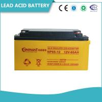 Customized UPS Accessories 6V & 12V Valve Regulated Lead Acid Battery Non - Spillable Manufactures