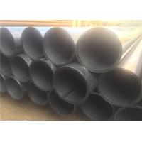 API BS DIN Carbon Welded Line ERW Steel Pipe With Seam 1-12m Length Manufactures