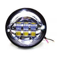 4.5 inch Harley Davidson motorcycle Fog lights , with 30w cree chip with 6000K Xenon White color light Manufactures