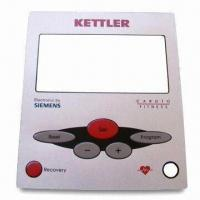 Membrane Faceplate, Graphic Overlay, Membrane Switch Embossed Metal Dome 5 Keys and Enterprise Logo Manufactures