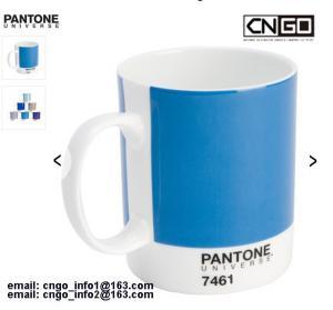 Export PANTONE colors cup 375C 230C Color numbers ceramic mug Manufactures