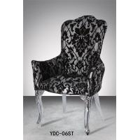 King throne stainless steel armchairs (YDC-06ST) Manufactures