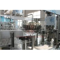 Rotary Type 3 In 1 Combi Automatic Liquid Filling Machine For Plastic Bottle Manufactures