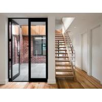 Bullet Proof Security Aluminium Hinged Doors With Laminated Glass French Style Manufactures