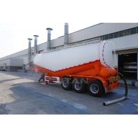 TITAN VEHICLE 3 axles 50t Dry Bulk Cement Powder Tanker Semi Trailer With Engine Manufactures
