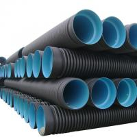 High quality and cheap corrugated high-density polyethylene (hdpe) pipe Manufactures