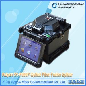 China Fusion Splicer Fusionadora de Fibra Optica FTTx FTTH Patch Cord with Optic Fiber Cleaver RY-F600 on sale