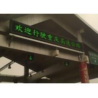 Energy saving Traffic High Way LED Moving Message Display Manufactures