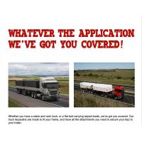 Customized 610gsm PVC Tarpaulin Truck Cover , Heavy Duty Canvas Tarpaulin for sale