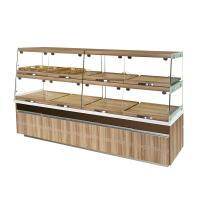 China High End Glass Bakery Display Cases Non Refrigerated Non Toxic Materials on sale