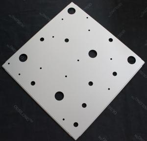 Modern Perforated Anti-rust Aluminum Galvanized Steel Ceiling Suspension System  595x595mm Manufactures