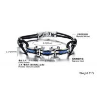 Wholesale fashion jewelry stainless steel braclet high quality hot sales factory priceBR32 Manufactures