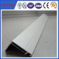 sand blasting Silvery anodized aluminum solar mounting frame manufacturers Manufactures