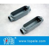 Aluminum Die Cast Conduit Body , Threaded C Type With Cover / Outlet Box Manufactures