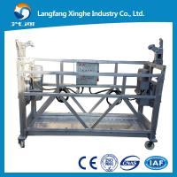 Aluminium alloy / Hot galvanized suspended scaffolding / the access system / washing machine Manufactures