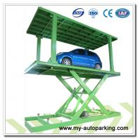 Made in China Double Deck Scissor Underground Automatic Car Lift Manufactures