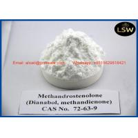 China 99% Purity Powder Oral Anabolic Steroids Metandienone / Dianabol For Muscle Growth CAS 72 63 9 on sale