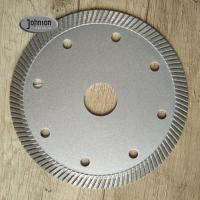 105mm Ceramic Tile Saw Blades , Marble Cutting Disc 1.8mm Segment Thickness Manufactures
