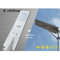 Infrared Motion Sensor Solar Panel Street Lights Outdoor With Lithium Battery Manufactures