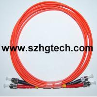 China ST/ST  Multimode Fiber Optic Patch Cable on sale