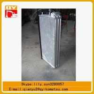 komatsu excavator pc450 hydraulic oil cooler ,pc450 water tank Manufactures