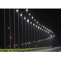 High Power Solar Led Lights Outdoor 120° Beam Angle 140LPW 150W Dual Hoop Mounting System Manufactures