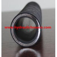 China Steel Wire Spiral Hydraulic Hose: DIN EN856 4SH Hydraulic Hose / High pressure rubber hose on sale