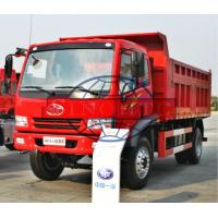 12 Tons Light Duty Dump Trucks Customized Dump Body Size Six Wheels Manufactures