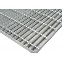 China 1m*6m Galvanized 19w4 Steel Grid Plate Bar Grating Weight For Fixed Platform on sale