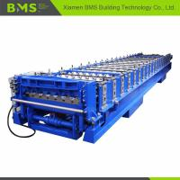 21steps Forming Station Output 12-15meters Per Minute Corrugated Roof Machine Manufactures