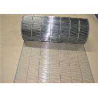 Stainless Steel  Wire Mesh Conveyor Belt With Ladder Type Uesd For Egg Conveyer Manufactures