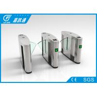 High Speed Electronic Turnstile Gates Fingerprint Access Control System For Hotel Manufactures