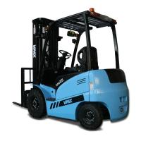 China Stand Up Electric Very Narrow Aisle Forklift Truck For Building Use CPD25 on sale