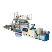 Automatic PVC Paint Free PVC Sheet Extrusion Line 1220 mm Width Manufactures