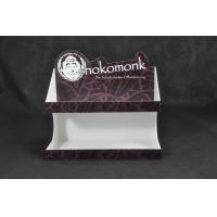 White Acrylic Chocolate Display Stand , Food Service Trays Stickers Available Manufactures