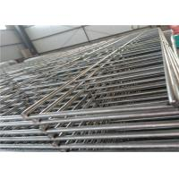 2x2 Welded Wire Mesh Fencing Panels , Pre Galvanized Wire Grid Panels 12 Gauge Manufactures