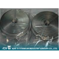 Chemical Cold Rolled Titanium Strip Coil / Foil Grade 1 ASTM B265 Manufactures