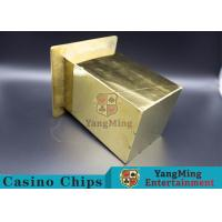 Stainless Steel Poker Discard Holder Easy Loading Be Set In Poker Table