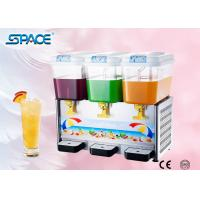 Commercial Cold Drink Dispenser Machine with Three Tanks High Output Manufactures