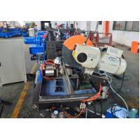 184mm Width 0.7mm-1.2mm Thickness Metal Shutter Door Bottom Roll Forming Machine With Fly Saw Cutting Manufactures