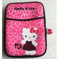 "Pretty Hello Kitties Designs 9.7"" 8.7 inch Neoprene laptop cover bag / Notebook Protector Manufactures"