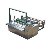 3.5 Kw Power Non Woven Cutting Machine , Cutting And Rewinding Machine Manufactures